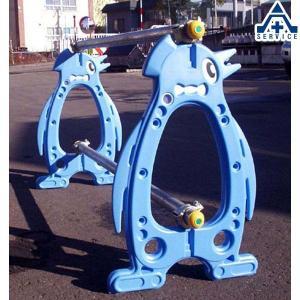 単管バリケード ペンギンパレード ポールセット品|anzenkiki