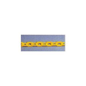 【プラスチックチェーン】黄色  6mm×2m|anzenkiki