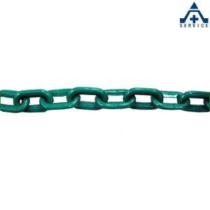 プラスチックチェーン 緑色 (φ6mm×1m単位 切り売り)プラチェーン PE 樹脂 グリーン|anzenkiki
