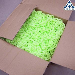 プラスチックチェーン 蓄光 (φ6mm×30m)プラチェーン PE 樹脂|anzenkiki