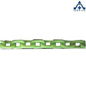 プラスチックチェーン 蓄光 (φ6mm×1m単位 切り売り)プラチェーン PE 樹脂|anzenkiki