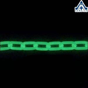 プラスチックチェーン 超高輝度 蓄光タイプ (φ6mm×25m)プラチェーン PE 樹脂 AC0625-30|anzenkiki