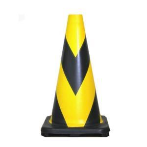 ラバーコーン 10本セット R-450Y(夜光反射型) 黄黒 anzenkiki