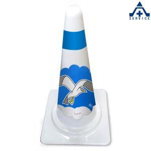 保安用品 デザインスコッチコーン 高さ:70cm|anzenkiki