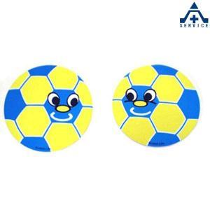 サッカーくん ステッカー (2枚組)シール サッカーボール デザインステッカー anzenkiki