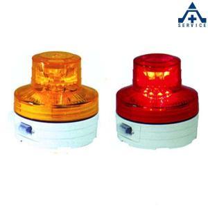日惠製作所 LED回転灯 ニコUFO 乾電池式 マグネットタイプ (赤色 黄色)点滅灯 警告灯 装飾灯 小型 軽量 作業用車両 農作業トラクター 船舶 施設 イベント|anzenkiki