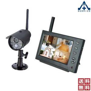 日動工業 ワイヤレスカメラ (モニタリングカメラ)WSC-W03MOW-1P (メーカー直送/代引き決済不可)防犯用品 防犯カメラ 監視カメラ NICHIDO|anzenkiki
