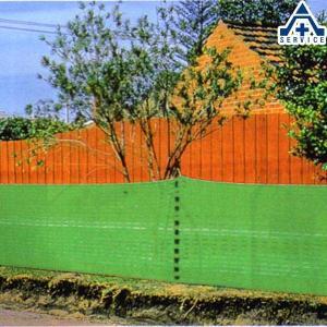 SG (グリーン)ネット 高さ1m×幅50m  ネットフェンス ネットガード 仮囲いネット工事用仮設ネット メッシュフェンス グリーンネット|anzenkiki