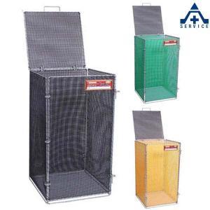 どこでもゴミBOX ミニ 折りたたみ式 サイズ:500×500×高さ900mm|anzenkiki