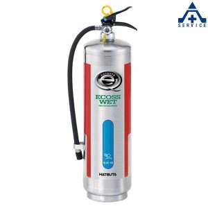 バーストレス消火器 蓄圧式(ステンレス) NLSE-6S リサイクルシール付|anzenkiki