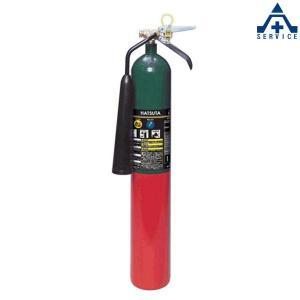 CO2ガス消火器 (スチール) CG-5 リサイクルシール付|anzenkiki