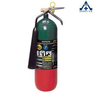 CO2ガス消火器 (スチール) CG-7 リサイクルシール付|anzenkiki