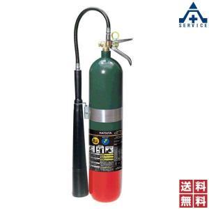 CO2ガス消火器 (スチール) CG-10 リサイクルシール付|anzenkiki