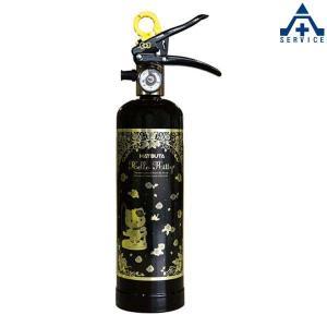 ハローキティ消火器 (スチール) HK1-BG リサイクルシール付|anzenkiki