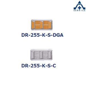 キャットアイ 傾斜プリズム超小型リフレクター ビームデリ 側壁取付タイプ DR-255 (メーカー直送/代引き決済不可)CATEYE 反射材 リフレクター デリネータ|anzenkiki