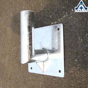 カーブミラー用 壁取付金具 60.5mm用  ステンレスミラー アクリルミラー ステンレス製ミラー アクリル製ミラー 工事現場 取付金具 壁面金具|anzenkiki