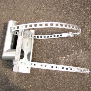 カーブミラー用電柱取付金具 76.3mm用|anzenkiki|02