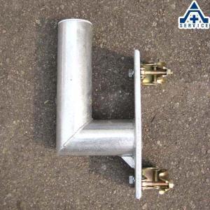 カーブミラー用 単管取付金具 76.3mm用  ステンレスミラー アクリルミラー ステンレス製ミラー アクリル製ミラー 工事現場 取付金具|anzenkiki