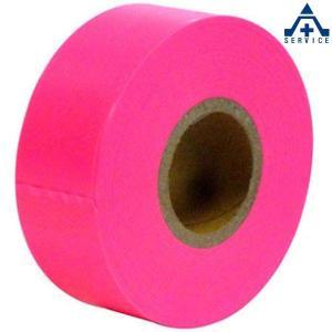 ピンクテープ (目印用)除雪用 測量用品 土木用品 マーキングテープ マークテープ 目印テープ|anzenkiki