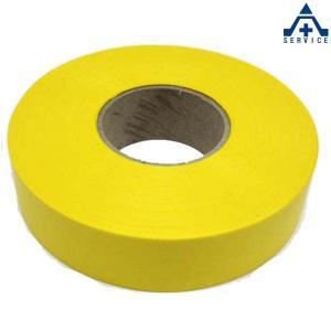イエローテープ (目印用)測量用品 土木用品 マーキングテープ マークテープ 目印テープ|anzenkiki