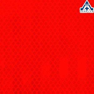カプセルプリズム型高輝度反射シート PX8424(蛍光オレンジ色) NETIS登録済 サイズ:300mm×300mm|anzenkiki