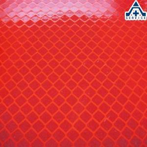 カプセルプリズム反射シート 赤色 3912FP 300mm×200mm|anzenkiki