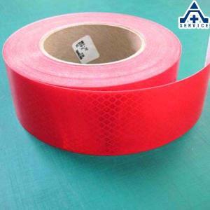 3M ダイヤモンドグレード プリズム反射シート PX9472 (赤色)50.8mm幅のM (メーター)売り  スリーエム 高輝度 反射材 反射シール リフレクター 再帰反射 の|anzenkiki