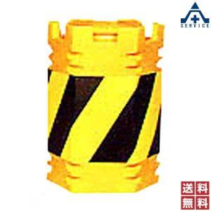 角型 クッションドラム CDK-601 (メーカー直送/代引き決済不可)衝突 衝撃 緩衝剤 道路 中央分離帯 セーフティドラム 保安用品 高速道路|anzenkiki