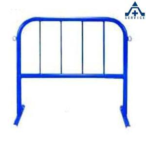 カラーパイプバリケード ミニ CPS-2 (青)(メーカー直送/代引き決済不可)駐車場 駐輪場 区画整備用品 区画スタンド パイプスタンド|anzenkiki