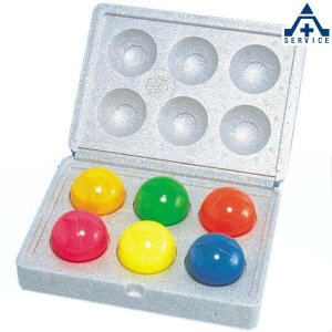 防犯カラーボール 蛍光クラックボール・ミニ (6個入) M-610|anzenkiki