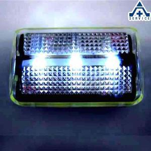 LEDセイフティライトS ホワイト 電池付 N-050  自転車用 ジョギング用 夜間 クリップ付 anzenkiki