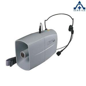 UNI-PEX 3W ウェストホーン TRC-3WH (メーカー直送/代引き決済不可)ユニペックス UNIPEX 日本電音 ヘッドセットマイク ミニメガホン ホイッスル付 単3 乾|anzenkiki