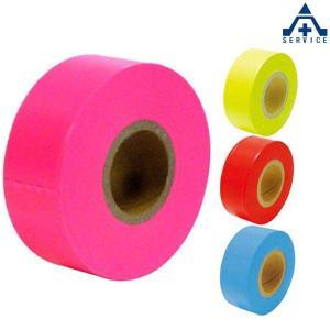 TP-44 マーキングテープ 30mm×50M  除雪用 測量用品 土木用品 マーキングテープ マークテープ 目印テープ|anzenkiki