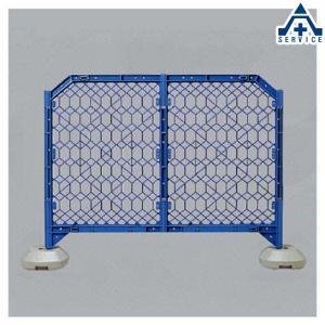 ディックフェンス 958-01 ブルー 本体 脚パイプ付 (メーカー直送/代引き決済不可)樹脂製ガードフェンス プラスチックフェンス 簡易フェンス 仮設フェンス|anzenkiki