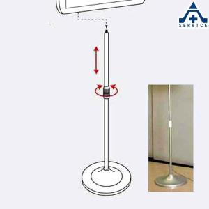 LEDサイン-01用スタンド 881-65  LED表示板 工場 施設 LED案内板 LED注意板|anzenkiki
