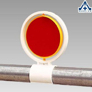 386-14 反射回転器クルピカ 単管用  工事現場 反射材|anzenkiki