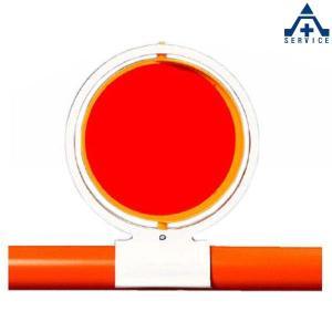 386-15 反射回転器クルピカ バリケード用  工事現場 反射材|anzenkiki