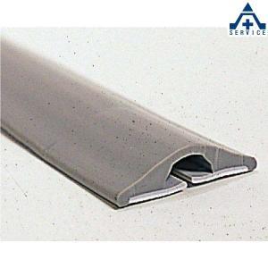 866-121 くるくるソフトモール (メーカー直送/代引き決済不可)ケーブルプロテクター 配線保護マット|anzenkiki