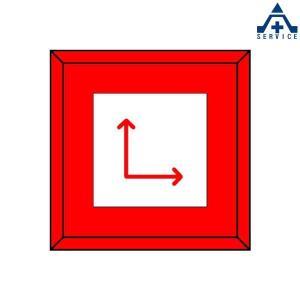 埋設表示杭  481-42 上矢印右矢印|anzenkiki