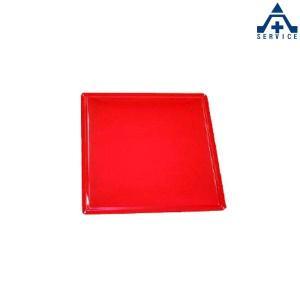 893-09 鉄板 赤 450×450mm (明治山)素材 鋼板|anzenkiki