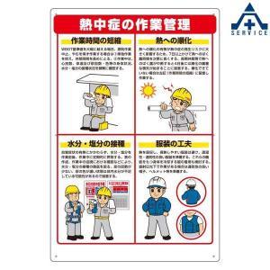 HO-588 熱中症対策標識 (メーカー直送/代引き決済不可)熱中症予防 工事現場 熱中症対策 作業員|anzenkiki