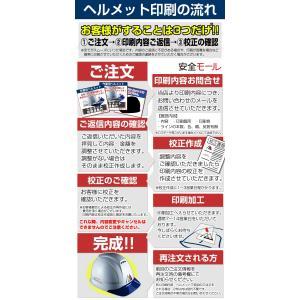 ヘルメット 印刷用型代 ヘルメットにロゴ・社名等が印刷(名入れ)可能|anzenmall|03