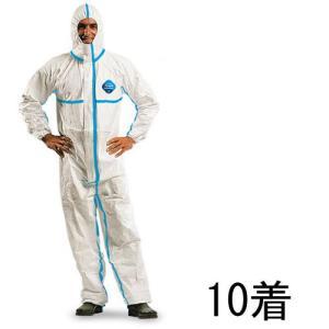 (デュポン/アゼアス) タイベックソフトウェア III 型 (10着入) (防護服/保護服/作業服) 送料無料|anzenmall