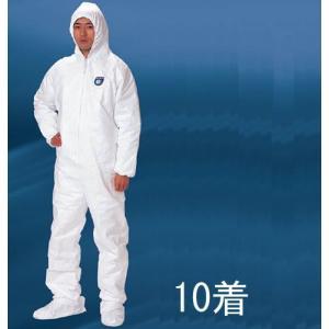 (デュポン/アゼアス) タイベック1010B (10着入) (防護服/保護服/作業服)|anzenmall