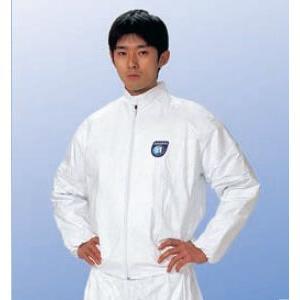 (デュポン/アゼアス) タイベックジャンパー 2110A (防護服/保護服/作業服)|anzenmall