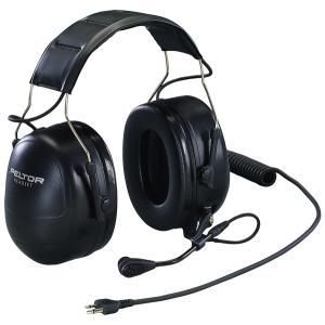イヤーマフ PTT付遮音ヘッドセットイヤーマフ MT53H79A-31 (NRR25dB) PELTOR 防音・騒音対策 耳栓 送料無料|anzenmall