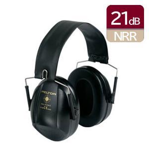 イヤーマフ H515 ブルズアイI ブラック ぺルター製イヤーマフ (遮音値 NRR21dB) (3M PELTOR) 防音 しゃ音 騒音対策 イヤマフ
