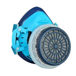 興研直結式小型防毒マスク R-5X-08型ガスマスク/作業用/医療/病院/解体/現場/国産|anzenmall