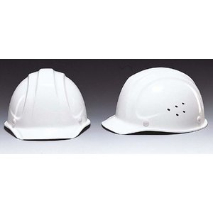 (DIC/ディック) FRP素材 作業用ヘルメット SYF-V ベンチレーション付 (ライナー入) (工事用/防災)|anzenmall