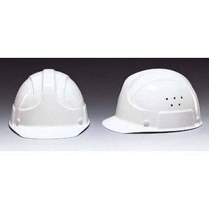 (DIC/ディック) FRP素材 作業用ヘルメット SF-1V  ベンチレーション付 (ライナー入) (工事用/防災)|anzenmall